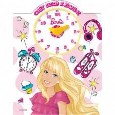 Cały dzień z Barbie. Książka z zegarem