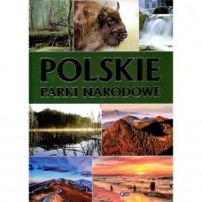 Polskie parki narodowe złocone litery