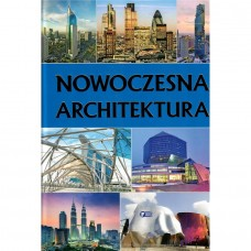 Nowoczesna architektura złocone litery