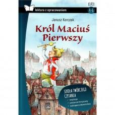Lektury Król Maciuś I tw.opr. SBM