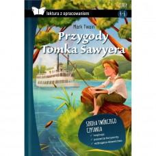 Lektury Przygody Tomka Sawyera tw.opr. SBM