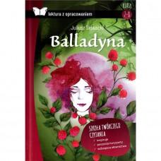 Lektury Balladyna tw. opr. z opracow. SBM