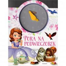 Pora na podwieczorek - książka z zegarem