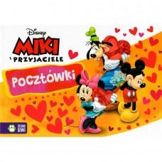 Miki i przyjaciele. Pocztówki - Disney