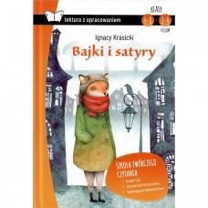 Lektury Bajki i satyry Krasicki tw.op. z oprac.SBM