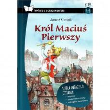 Lektury Król Maciuś Pierwszy m.opr. SBM