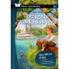 Lektury Przygody Tomka Sawyera m.opr. z oprac. SBM
