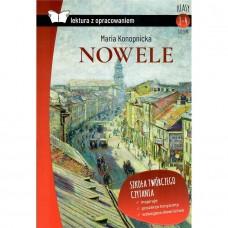 Lektury Nowele Konopnicka tw.opr. z oprac. SBM