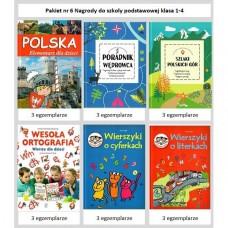 Pakiet nr 6 Nagrody do Szk.Podst.kl. 1-4 /22 szt./