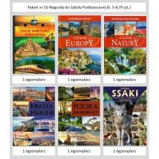Pakiet nr 10 Nagrody do Szk.Podst.kl. 5-8 /9 szt./