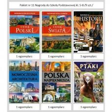 Pakiet nr 11 Nagrody do Szk.Podst.kl. 5-8 /9 szt./