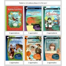 Pakiet nr 13 Lektury Klasa 1-4 /12 szt./