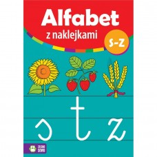 Alfabet z naklejkami S-Z