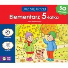 Elementarz 5 latka - już się uczę