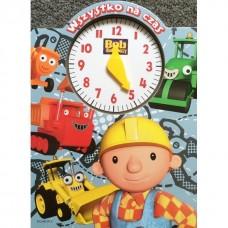 Bob Budowniczy książka z zegarem